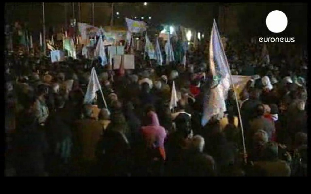 Massive Protests Rock Cyprus
